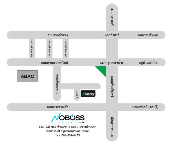 Noboss map